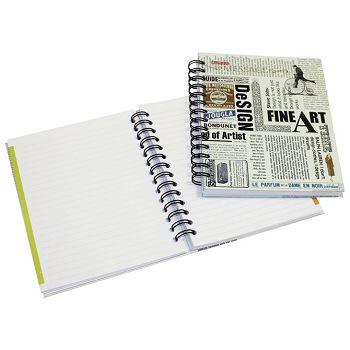 Blok kolegij A6 karo 100L matlak News Paper Marker 258