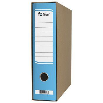 Registrator A4 široki u kutiji FORten plavi