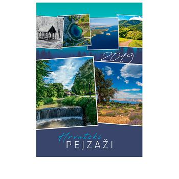 Kalendar Hrvatski pejzaži 2020 13L, spirala