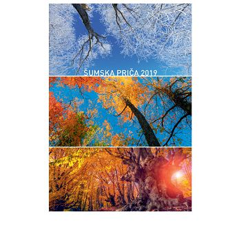 Kalendar Šumska priča 2020 13L, spirala