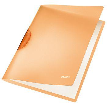 Fascikl klip pp A4 Color RBow Leitz 41760045 narančasti