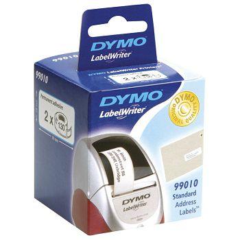 Etikete u roli 28x89mm pk2 Dymo 99010 bijele blister