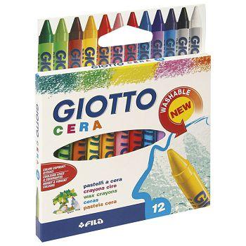 Boje voštane  12boja Giotto Fila 2812 blister