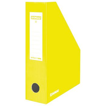 Stalak za spise okomit kartonski lakirani Donau 7649201PL11 žuti