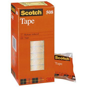 Traka ljepljiva 19mm33m  Scotch 508 3Mprozirna