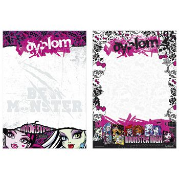 Diploma A4 Monster High Starpak 301758