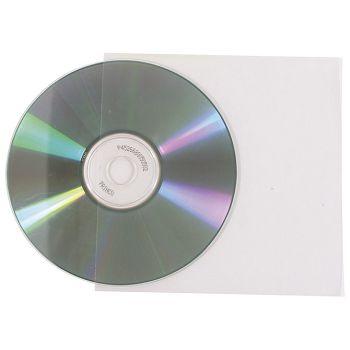 Etui za 1 CD pvc pk100 sjajni 130my USproziran
