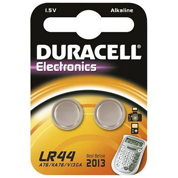 Baterija alkalna 1,5V pk2 Duracell LR44 blister
