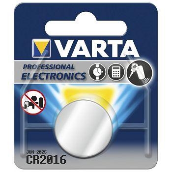 Baterija litij dugmasta 3V Varta CR2016 blister