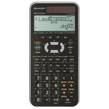 Kalkulator tehnički 102mjesta 556 funkcija Sharp ELW506XSLC srebrni