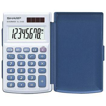 Kalkulator komercijalni  8mjesta Sharp EL243S bijeli