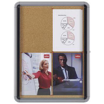 Ploča oglasna 100x75,2x7,7cm pluto Nobo 1902564