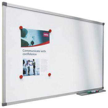 Ploča magnetna  90x60cm aluminijska okvir Nobo 1903889 bijela