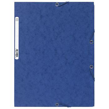 Fascikl klapa s gumicom chartreuse A4 Exacompta 55502E plavi