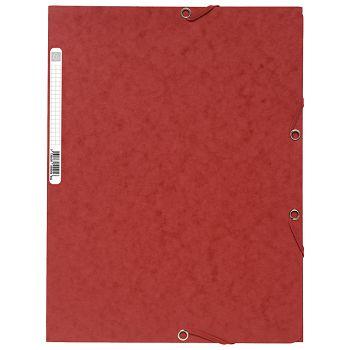 Fascikl klapa s gumicom chartreuse A4 Exacompta 55505E crveni