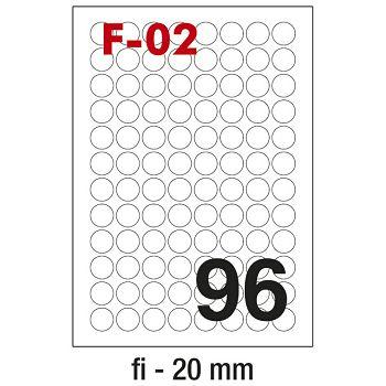 Etikete ILK fi20mm pk100L Fornax F02