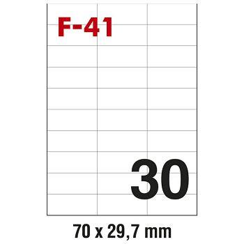 Etikete ILK  70x29,7mm pk100L Fornax F41