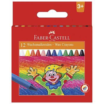 Boje voštane 12boja  Faber Castell 120002 blister