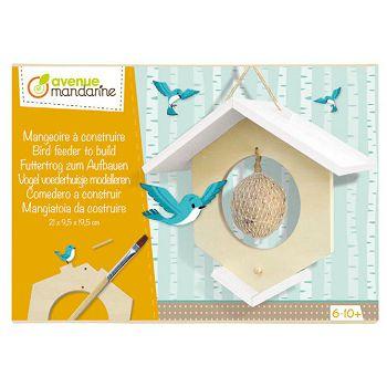 Set za izraduKućica za hranjenje ptica Avenue Mandarine Clairefontaine CO172C