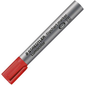 Marker Flipchart 2mm Lumocolor Staedtler 3562 crveni okrugli