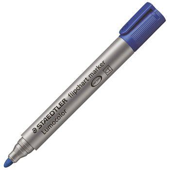 Marker Flipchart 2mm Lumocolor Staedtler 3563 plavi okrugli