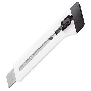 Skalpel nož 18mm vodilica M18 Edding bijeli