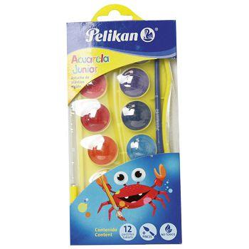 Boja vodena  12bojakist Pelikan 700337 sortirano blister