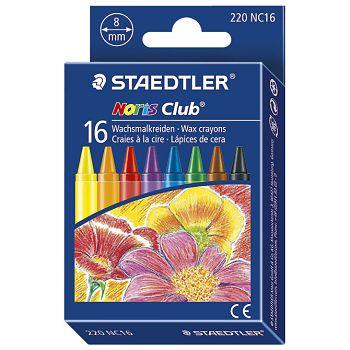 Boje voštane 16boja Noris club Staedtler 220NC16