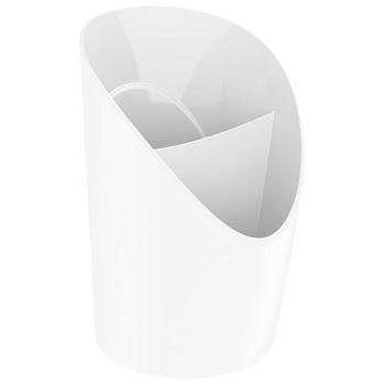 Čaša za olovke pvc Vivida Esselte 623941 bijela