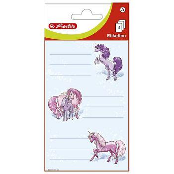Etikete školske papir konji Herlitz 830281