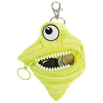 Etui Monster BrightLime Zipit ZPTMBEN1 zeleni