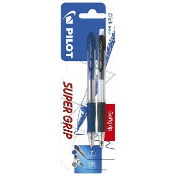 Garnitura olovka kemijskaolovka tehnička Super grip Pilot blister