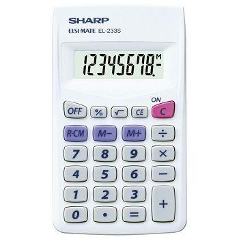 Kalkulator komercijalni  8mjesta Sharp EL233S bijeli
