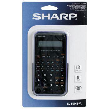 Kalkulator tehnički 102mjesta 131 funkcija Sharp EL501XBVL ljubičasti