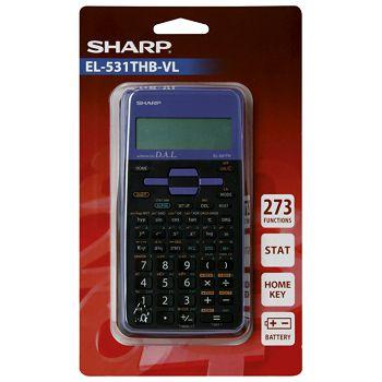 Kalkulator tehnički 102mjesta 273 funkcije Sharp EL531TXHBVL ljubičasti blister