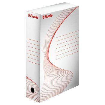 Kutija arhivska A4 h80mm Esselte 128080 bijela