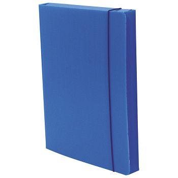 Mapa s gumicom hrbat15mm A4 pptvrdi Dispaco 2005 plava