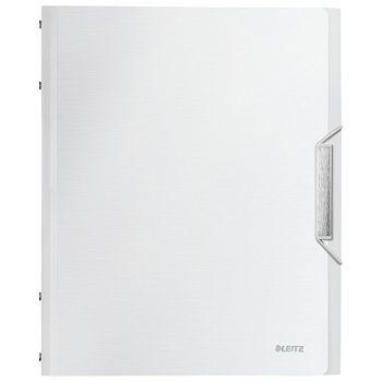 Mapa za odlaganje spisa 6 pregrada s gumicom i klapnom Style Leitz 39950004 bijela