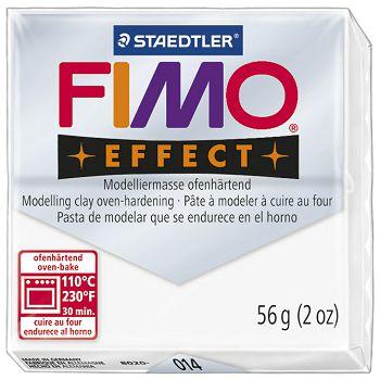 Masa za modeliranje   56g Fimo Effect Staedtler 8020014 prozirno bijela