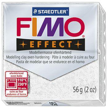 Masa za modeliranje   56g Fimo Effect Staedtler 8020052 glitter bijela