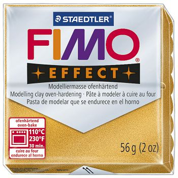Masa za modeliranje   56g Fimo Effect Staedtler 802011 metalik zlatna