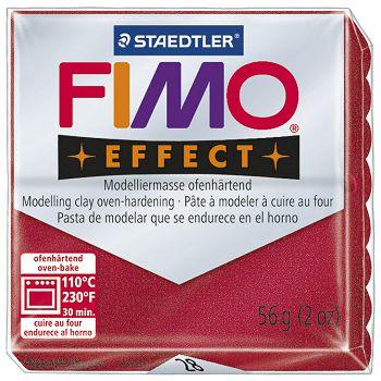 Masa za modeliranje   56g Fimo Effect Staedtler 802028 metalik crvena