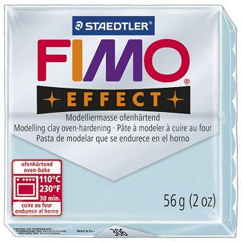Masa za modeliranje   56g Fimo Effect Staedtler 8020306 svijetlo plava