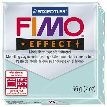 Masa za modeliranje   56g Fimo Effect Staedtler 8020505 pastelno svijetlo zelena