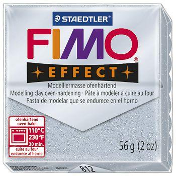 Masa za modeliranje   56g Fimo Effect Staedtler 8020812 glitter srebrna