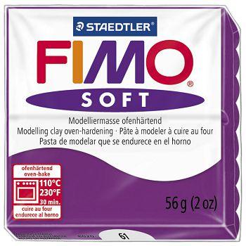 Masa za modeliranje   56g Fimo Soft Staedtler 802061 ljubičasta