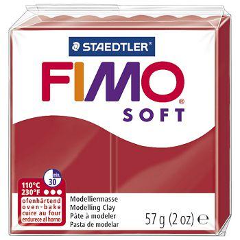 Masa za modeliranje   57g Fimo Soft Staedtler 80202P crvena