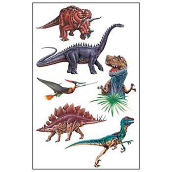 Naljepnice dječjeTattoo dinosauri Herlitz 11258811 blister