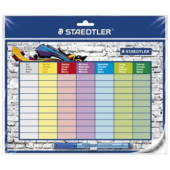 Ploča sa rasporedom satimarker Staedtler 641 SP2