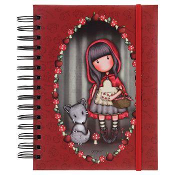Organizer 18x21cm 108L Little Red Riding Hood Gorjuss 201GJ07